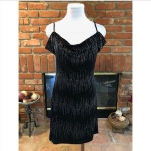 Spaghetti Strap Cold Bare Shoulder Dress